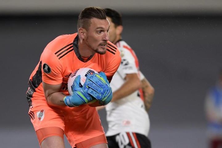 Argentina se ejercitó a la espera de un negativo de Armani. EFE