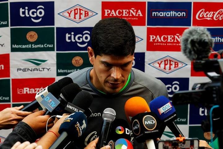 Carlos Lampe analizó la previa del duelo ante Chile. EFE/Archivo