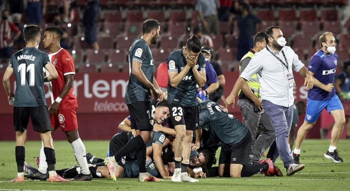 El Rayo Vallecano logró el ascenso a Primera. EFE
