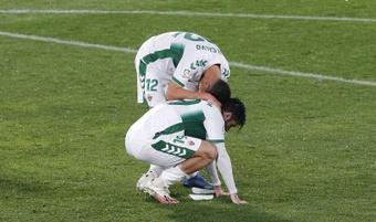 Cuatro jugadores franjiverdes quedan libres por fin de contrato. EFE/Archivo