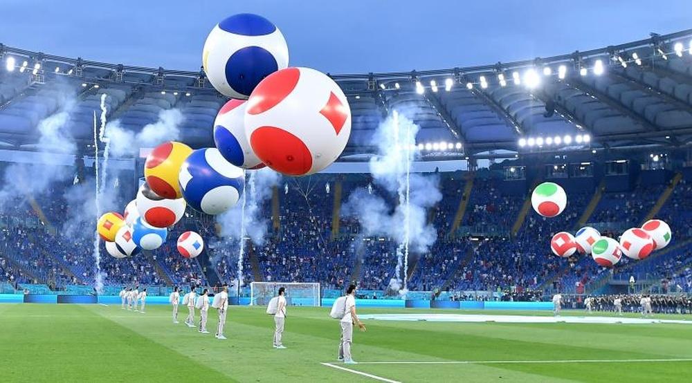 Inglaterra y Ucrania cruzan sus sueños en Roma. EFE