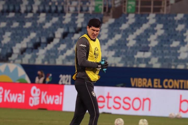 Carlos Lampe jugará este curso en Argentina. EFE/Archivo