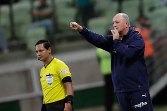 Scolari tendrá bajas ante Liga de Quito. EFE