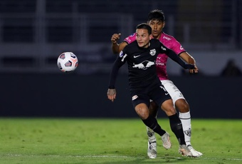 Bragantino pasó a cuartos de final tras empatar 1-1. EFE