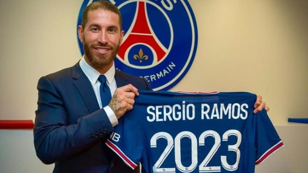 El muslo, el motivo de que Ramos no juegue ante el Sevilla. EFE