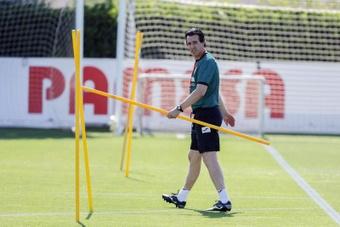 Unai Emery podrá hacer otra prueba de cara a la final frente al Chelsea. EFE