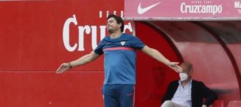 Cristian Toro espera que sus chicas le den muchas alegrías. EFE