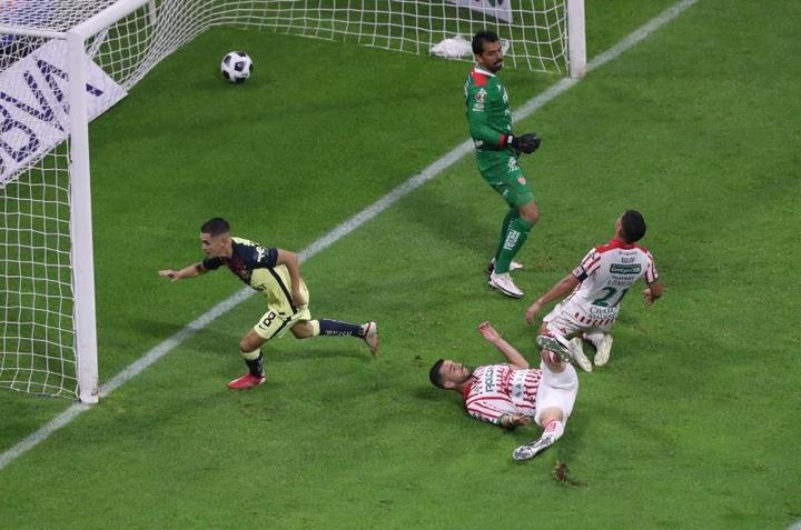 Un canterano del Madrid sella el primer triunfo de Solari en el Apertura. EFE