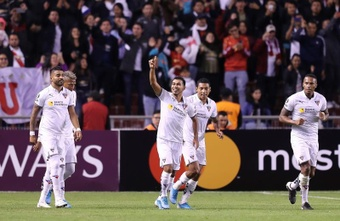 Liga de Quito arolló a Olmedo Riobamba. EFE
