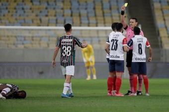 Fluminense ganó a Cerro y estará en cuartos. EFE