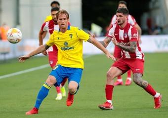 Rodrigo de Paul habló tras su debut. EFE