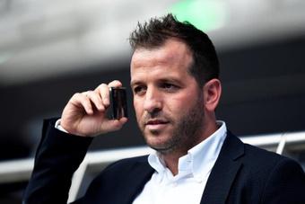 Van der Vaart arranca su carrera como técnico como ayudante. EFE