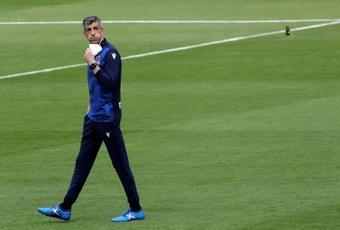 Imanol no le encuentra el punto al Barça. EFE