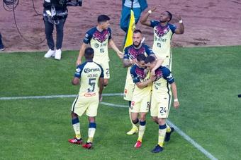 El América sigue infalible y León, Tigres y Toluca cierran el 'top 4'. EFE