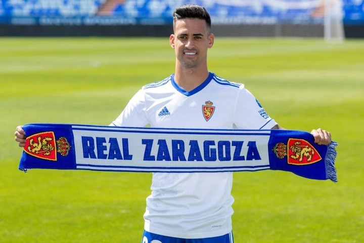 Nano Mesa admitió tener muchas ganas de jugar con el Zaragoza. EFE