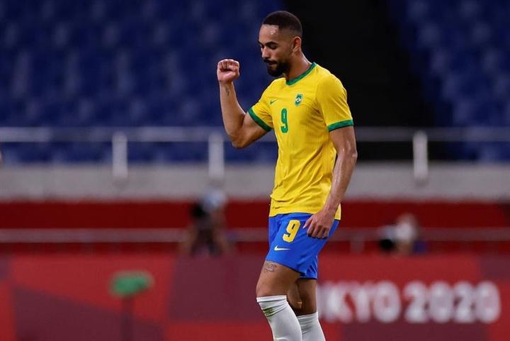 La Selección Brasileña convocó a Cunha. EFE