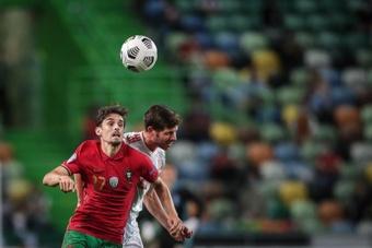 Trincão sustituye al lesionado Pedro Gonçalves con Portugal. EFE/Archivo