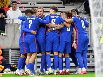 Inglaterra venció con comodidad a Hungría. EFE