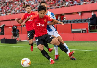 Los internacionales del Mallorca se reincorporan esta semana. EFE