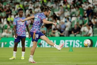 Bale habló sobre su 'hat trick'. EFE/Julio Muñoz