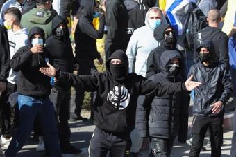 Los ultras del Beitar son famosos por su racismo y violencia. EFE/EPA/Archivo
