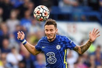 Saúl debutó con el Chelsea como titular. EFE/EPA