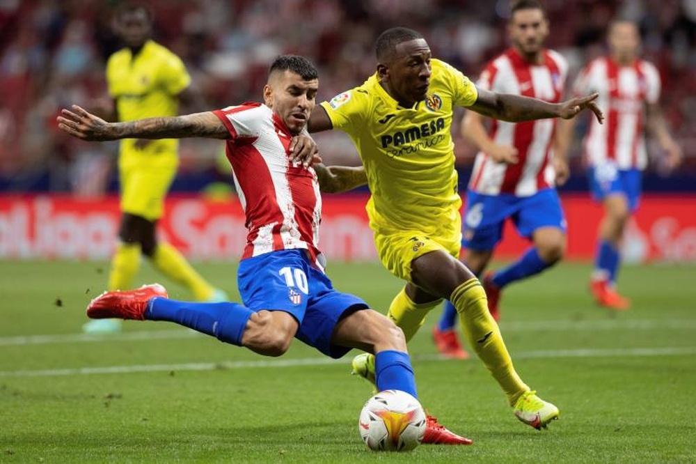 Correo analizó su situación en el Atlético de Madrid. EFE