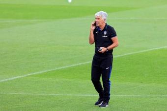 Gasperini elogió al Villarreal, un rival de alto nivel. EFE