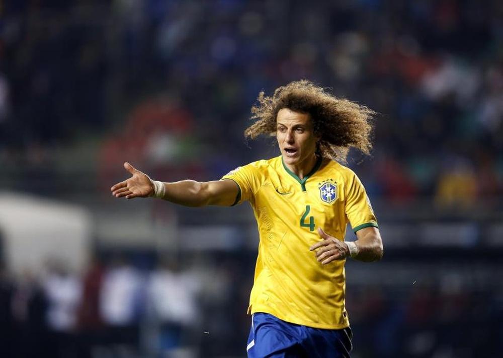 David Luiz está muy ilusionado por su aventura en Flamengo. EFE