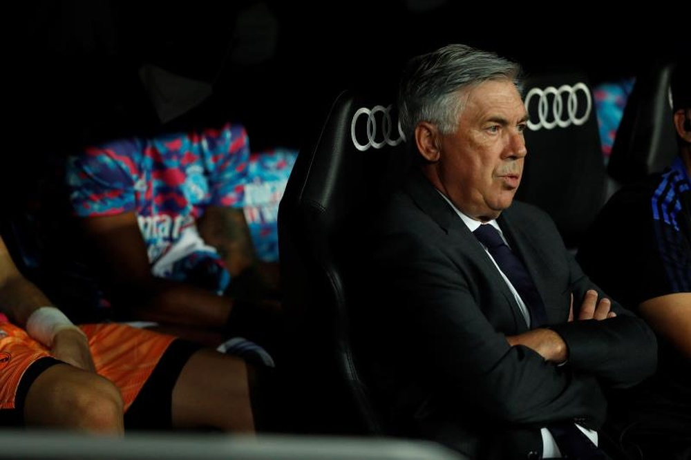 Ancelotti regresa a la Champions con el Real Madrid. EFE