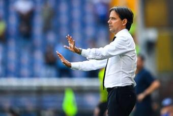 Simone Inzaghi advirtió de los peligros que entraña el Madrid. EFE/EPA/Archivo