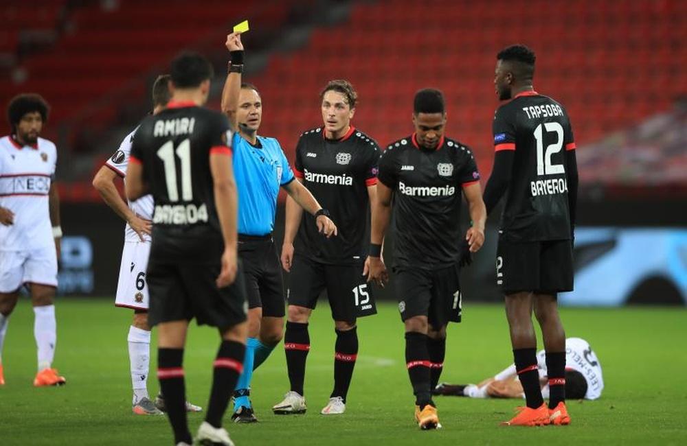 Jovic arbitrará el Betis-Celtic y Collum, el PSV-Real Sociedad. EFE