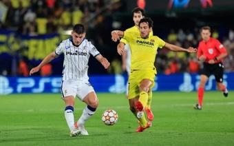 Parejo destacó la capacidad de sufrimiento del Villarreal. EFE