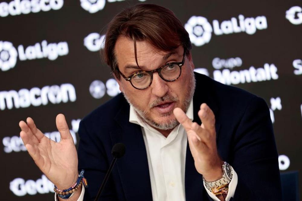 Quico Catalán, crítico con el mercado de fichajes. EFE