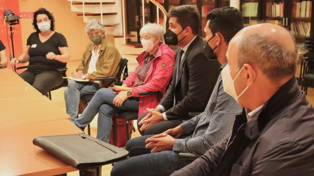 La AFE comienza el diálogo con el PSOE. EFE
