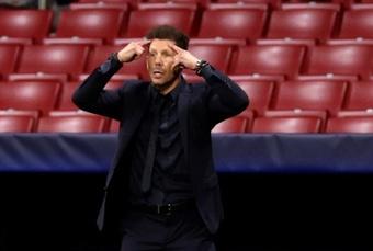 Simeone analizó el empate ante el Oporto. EFE