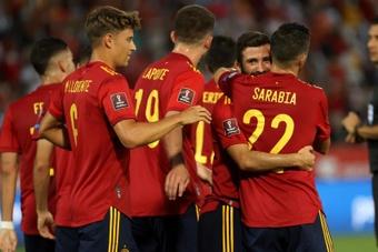 España bajó al octavo puesto de la FIFA. EFE