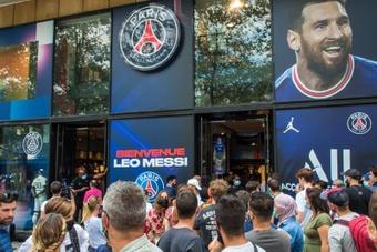 El fichaje de Messi provoca un impacto total en las arcas del PSG. EFE