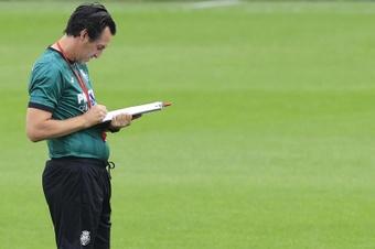 Cinco empates han sido suficientes para Emery. EFE