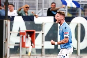 Lazio y Cagliari empataron. EFE