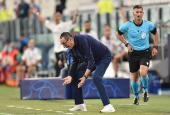 Sarri demandó a un árbitro de la Serie A. EFE