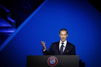 La UEFA sigue trabajando para reducir la brecha entre clubes. EFE/EPA/Archivo