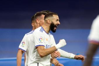 El Madrid ha empezado la temporada como un ciclón. EFE