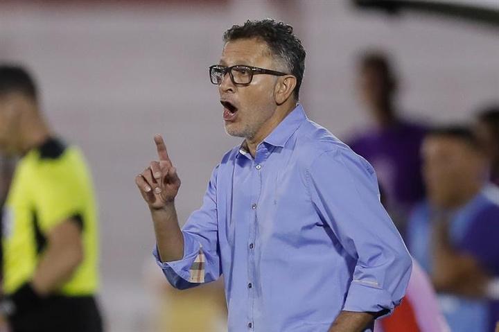 Juan Carlos Osorio tiene que enderezar el rumbo del América. EFE/Archivo