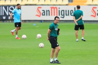 Emery analizó lo que le espera a su equipo en el Bernabéu. EFE