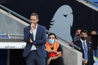 El Espanyol visita al Sevilla en Liga. EFE