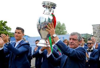 Fernando Santos lo ha ganado casi todo al frente de Portugal. EFE/Archivo