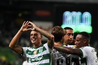 El Sporting CP encadena dos victorias consecutivas en la Liga Portuguesa. EFE
