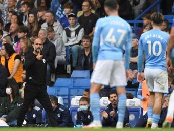 Pep se coronó ante el Chelsea: ya es el técnico con más victorias del City. EFE