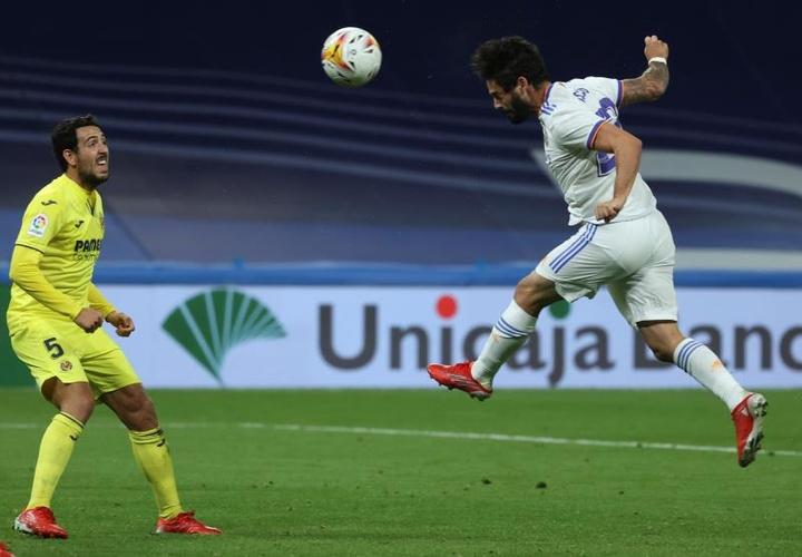 Parejo analizó el empate en el Bernabéu. EFE